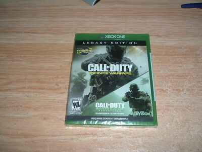 Call Of Duty Infinite Warfare Legacy Edition (Xbox One) New And Sealed