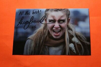 Laura Greenwood (Wolfblood) Signed Photo