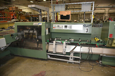 1996 MULLER PRIMA STITCHER LINE - 4 PKT, 4th-5th KNIFE, TRIMMER, RIMA STACKER