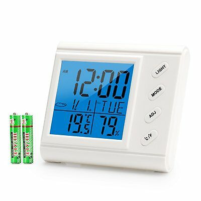 Toozey Digital Hygrometer Thermometer Indoor Wireless Humidity Monitor Standing