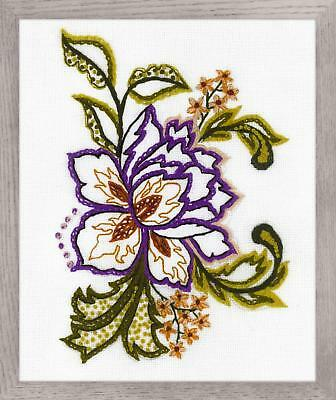 Embroidery Kit by Riolis 1687 Flower Sketch