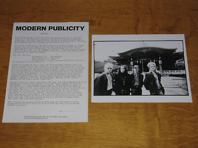 The Cult - Love - 1985 Uk Promo Press Release With Promo Photo