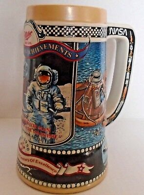 Miller Brewing Nasa Beer Stein-Great American Achievements-Fifth In Series