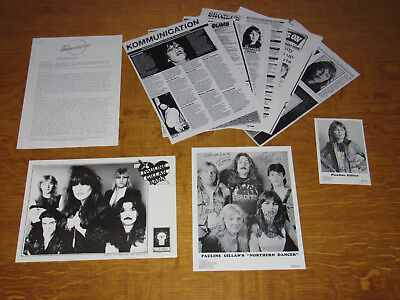 Pauline Gillan - Uk Promo Press Pack With Signed Photos (Ian Nwobhm)