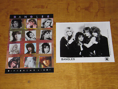 The Bangles - Different Light - 1986 Uk Promo Press Pack