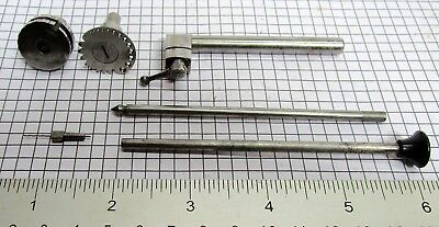Watchmaker lathe pivot repair tools (3) - Lorch, no reserve