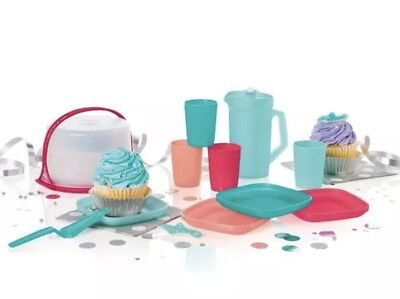 Tupperware 11 PC Mini Party Set for Kids