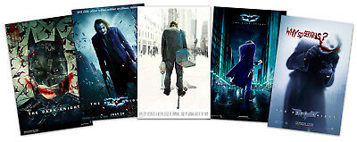 """The Dark Knight - 2017 (11""""x 17"""") Movie Collector's Poster Prints (Set of 5 )"""