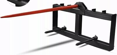 "Skid Steer Bale Spear Attachment 39"" Prong Hay Bale Handler Spike (B1B)*"