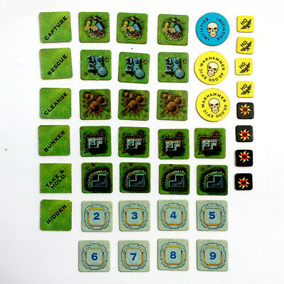 Warhammer Epic 40k, assorted counters