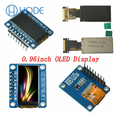IPS 0.96 inch SPI HD 65K Full Color screen Module ST7735 IC 80*160 UK