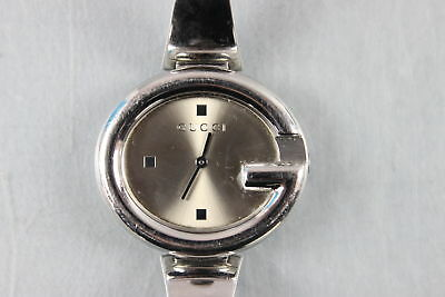 3e9287b9ccc Gucci Guccissima Bangle Stainless Steel Quartz Movement Women s Watch 134.3