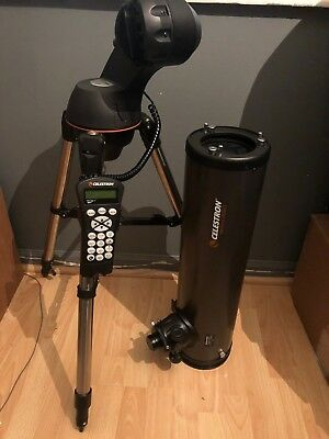 Celestron NexStar 130SLT f/5 Newtonian Telescope. Used - Great Condition.