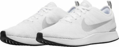 the latest 92925 41409 Men's Nike Dualtone Racer Running Shoes White / Platinum Sz 9 918227 102