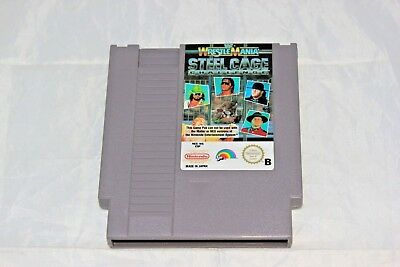 Wrestlemania Steel Cage Challenge PAL Nintendo Entertainment System NES