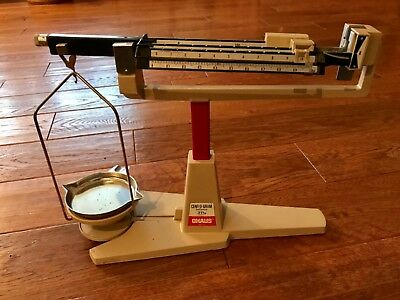 OHAUS CENT-O-GRAM Balance Scale 311g - complete great condition