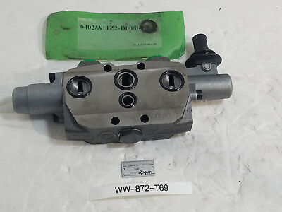New Roquet Spool Hydraulic Directional Control Valve 6402/A11Z2-D00/0-0/0-0