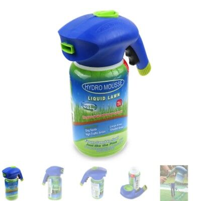 Household Seeding Hydro Mousse System Liquid Spray Seed Lawn Care Grass Shot