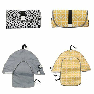 Portable Travel Foldable Diaper Changing Change Pad Baby Nappy Bag Clutch Mat CU