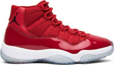 finest selection 172c1 b3055 Nike Air Jordan 11 Win Like 96 Retro XI Gym Red 378037-623 Authentic lot