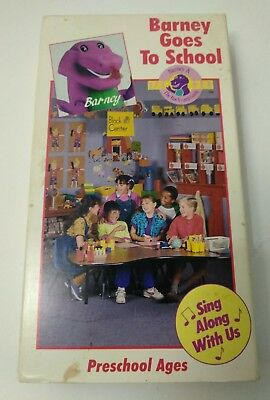 BARNEY AND THE Backyard Gang: Barney Goes To School First ...
