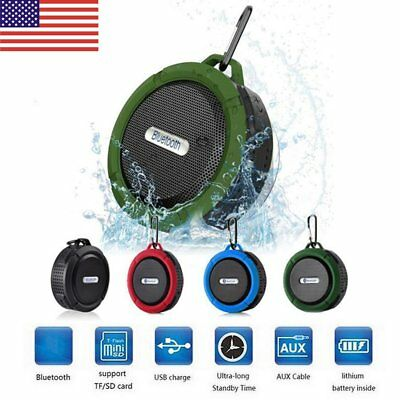 New Waterproof Bluetooth Speaker Mini Wireless Shower Radio Suction Cup Stereo