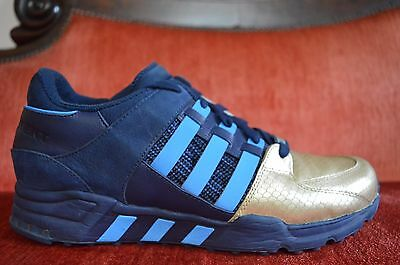 sale retailer c2415 f4cad Adidas x Ronnie FIeg EQT RNG Support 93 Size 10 NYC Bravest KITH Blue Gold  NMD