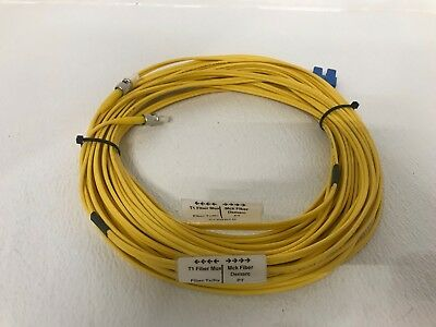 50 Feet Corning 9/125 Lc/sc Upc Duplex Single Mode Optical Fiber Cable