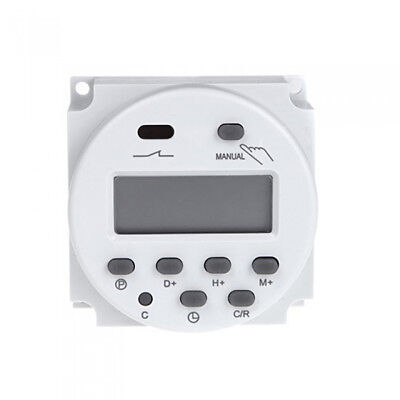 CN101A AC 220V Digital Time Switch Weekly Programmable Electronic Timer New HC22