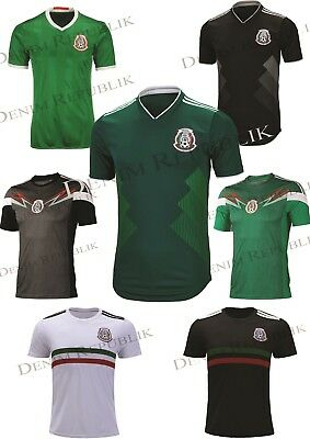 MEXICO Soccer Jersey Replica Tee Novelty T-Shirt Mens World Cup 2018 Football