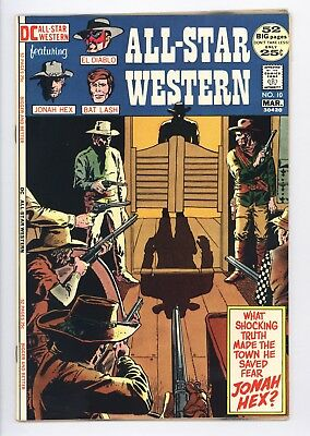 All-Star Western #10 Near Perfect High Grade 1st Appearance of Jonah Hex
