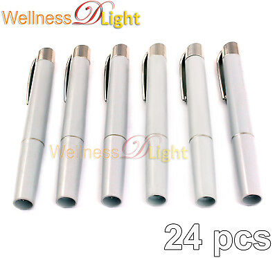 Wdl New 24 Emergency Medical Penlights Diagnostic Ent Emt  Instruments