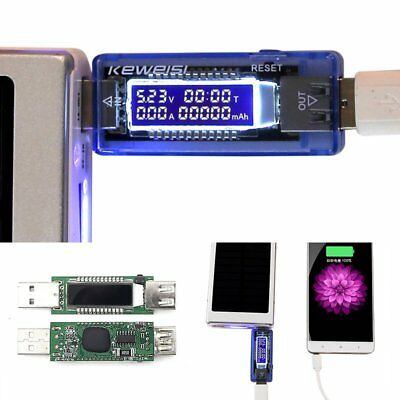 New USB Detector Charging Power Capacity Battery Voltage Current Meter Tester US