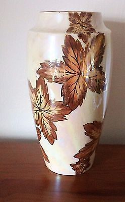 Collectable Large Oldcourt Lustre Ware Vase