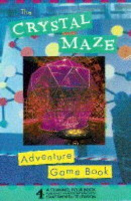 Crystal Maze Adventure Gamebook By Dave Morris, Jamie Thomson
