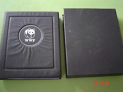 World Wildlife Fund (WWF) Special Collection Stamps & FDC's Album & Binder As Ne