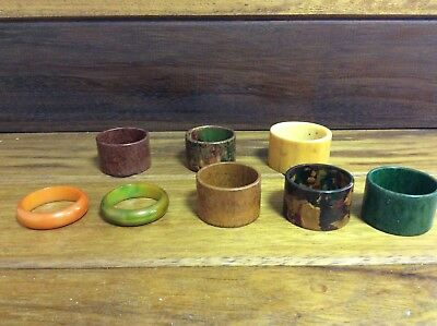 Collection of Napkin Rings (Rowcroft Hospice)