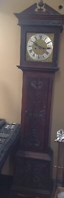 Georgian Oak Grandfather Clock