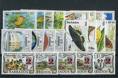 Barbados 1991 Commemorative issues MNH