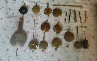Clock Parts Pendulums Spring Suspensions Crutches