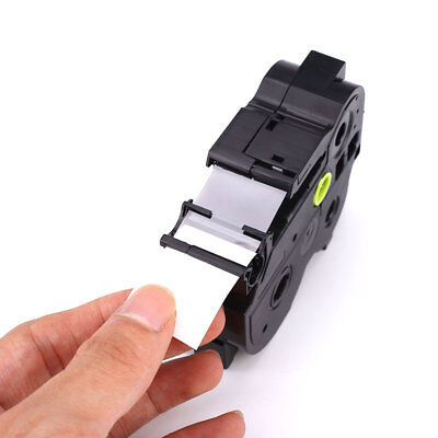 Tze251 24MM P-Touch Label Printer Tape Cartridge Compatible For Brother KZe-251