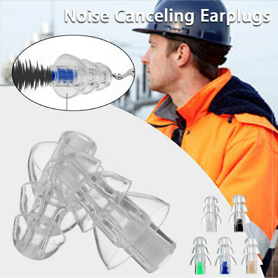 AU 27db Noise Canceling Earplug Concert Musician Motorcycle Hearing Protection