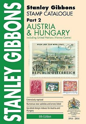 STANLEY GIBBONS - STAMP CATALOGUE PART 2 - AUSTRIA - 8th EDITION