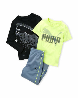 27a42d22c581 NWT PUMA (TODDLER Boys) 3-Piece Tricot Graphic Shirt