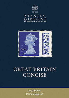 Stanley Gibbons Great Britain Gb Concise 2018 Stamp Catalogue Book - Hard-Back