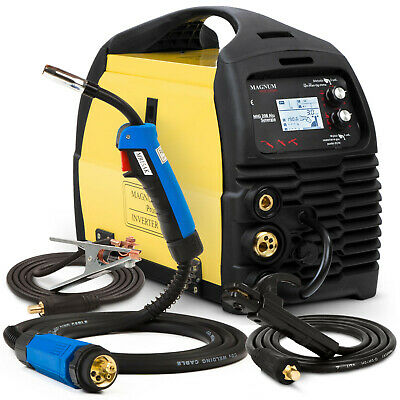 MIG Arc Welder Inverter Portable Welding Machine MAGNUM 208 Aluminium Brazing
