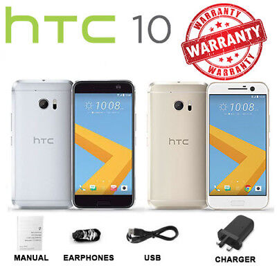 HTC 10 M10 Gold Silver Grey - 32GB - Android Unlocked Smartphone Boxed UK