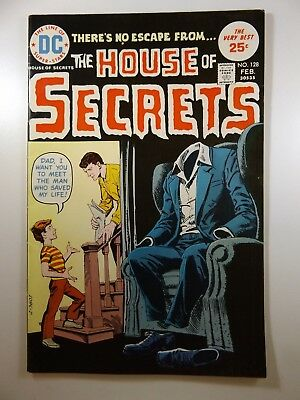The House of Secrets #128 Classic DC Horror! Beautiful Fine/VF Condition!!