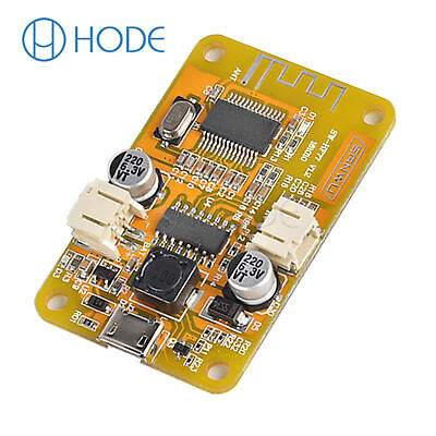 DC5V Mono Amp Bluetooth Audio Receiver 6W Power Amplifier Board UK