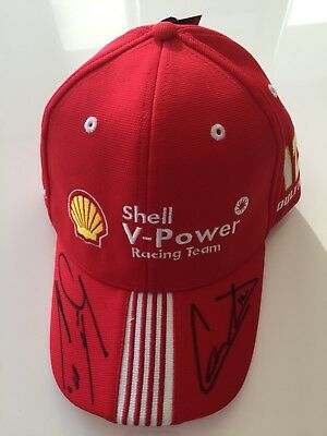V8 Supercars Shell Racing Cap Signed By Scott McLaughlin & Fabian Coulthard